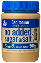 No Added Sugar or Salt Smooth Peanut Butter