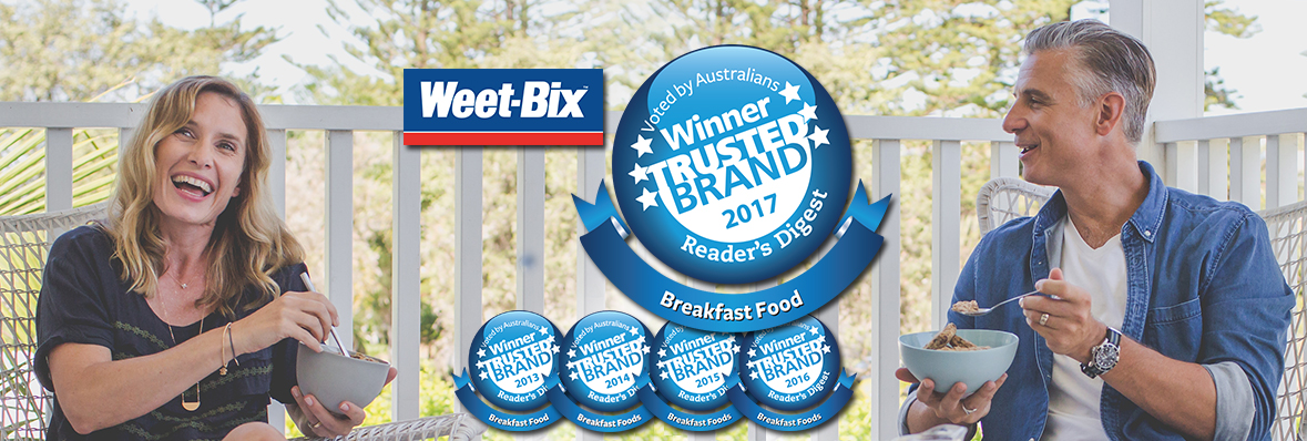 Weet-Bix tops trusted brands a fifth time