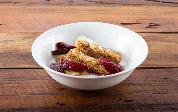 Weet-Bix™ with plum and coconut