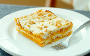 Ricotta and pumpkin lasagne