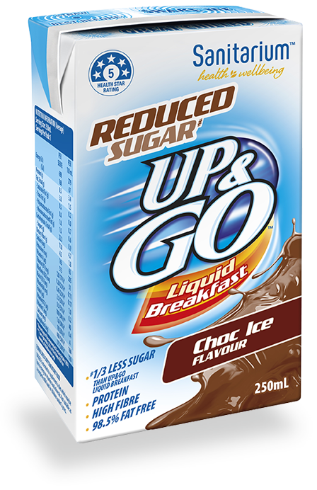 UP&GO Reduced Sugar# Choc Ice Flavour
