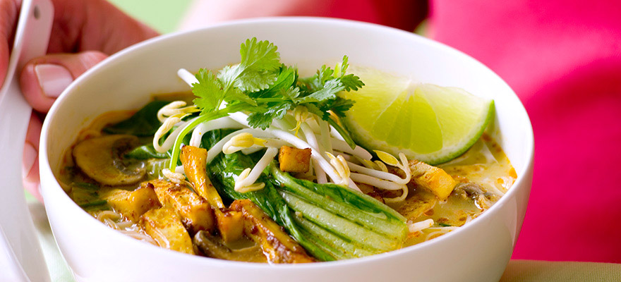 Easy mid-week laksa