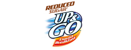 UP&GO Reduced Sugar# logo