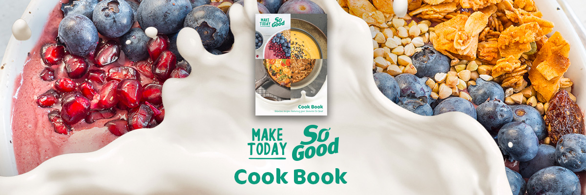 FREE So Good Cookbook with over 30 delicious healthy recipes