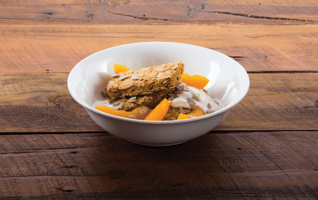 Weet-Bix™ with apricots and hazelnuts